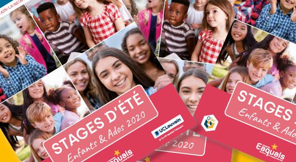 Stages d'été 2020 pour enfants et ados